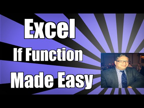 Basic Math using the IF function in Excel 2007. Excel 2010, and Excel 2013 Excel 2016 tutorial