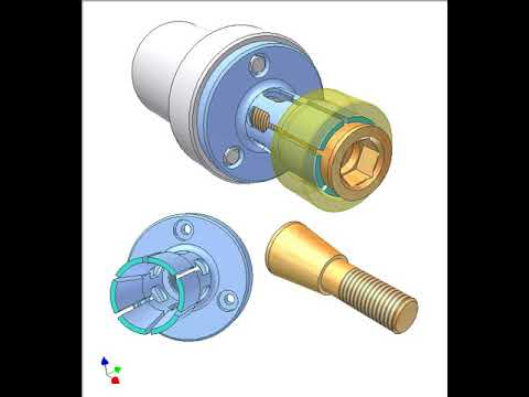 Screw collet clamping 4