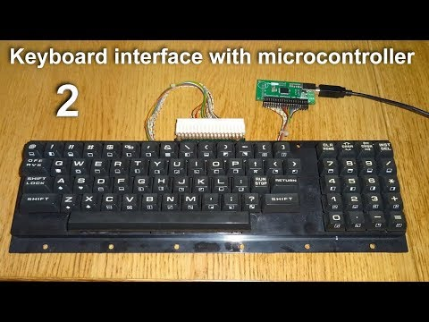 TISHITU Part-2 Computer Keyboard Interface with 8051 microcontroller & LCD In Proteus and Keil