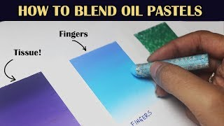 Download How to blend with Oil Pastels | 4 Oil Pastel Blending Techniques | Saminspire Video