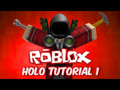 Roblox Holo Training Place Tutorial #1 (Starting Off!)