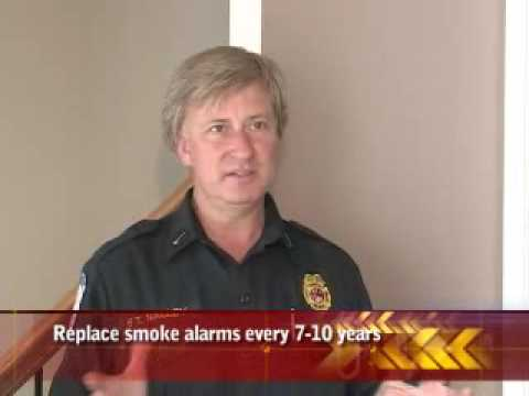 Change batteries in smoke and carbon monoxide alarms