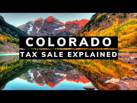 Colorado Tax Lien Certificates: Auction Investing Tutorial