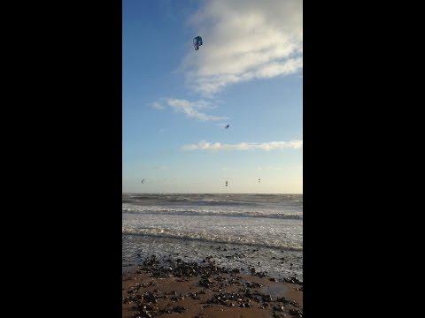 kitesurfing uk record