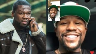 50 Cent Sends Goons To Floyd Mayweather After He Facetimes 50 Cent