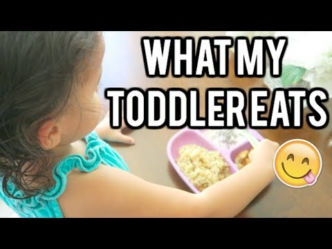 WHAT MY TODDLER EATS IN A DAY! MEAL IDEAS FOR TODDLERS