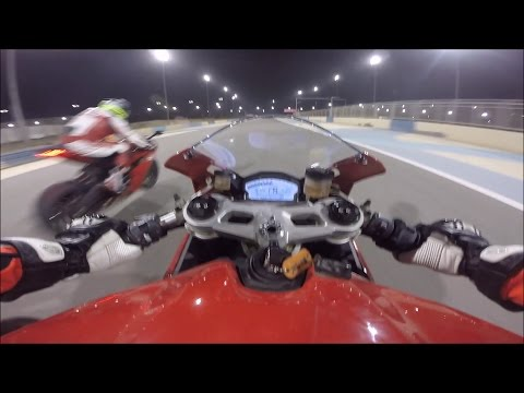 Ducati 899 Panigale Track Day GoPro - Getting to Know Bahrain International Circuit