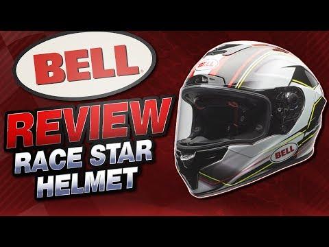 2016 Bell Race Star Helmet Review from Sportbiketrackgear.com