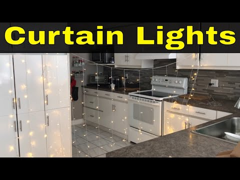 DLIUZ Curtain Lights Review-Great String Light Decor