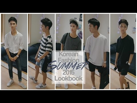 Korean Fashion Summer 2015 Lookbook - Edward Avila