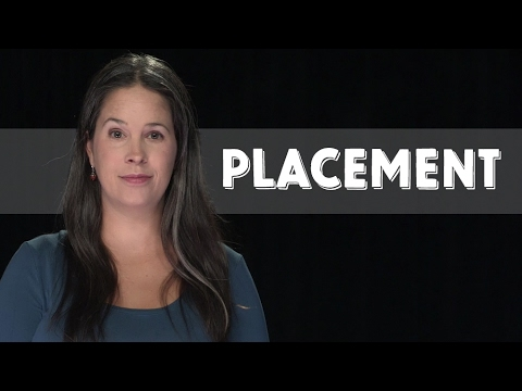 American Accent Trick:  Placement