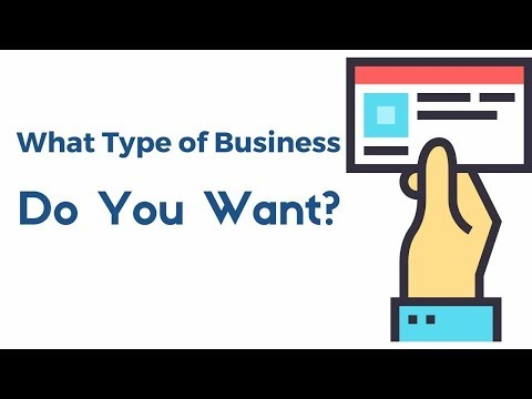 Lesson 2: What Type of Business Do You Want?