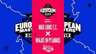 MAD vs NIP – EU Masters Summer 2018 | Finale [GER]
