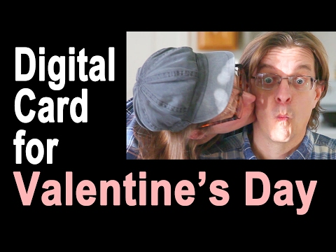 How to Make a Digital Valentine's Day Card ❤ ❤