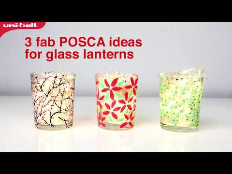 Posca Light Lantern Designs