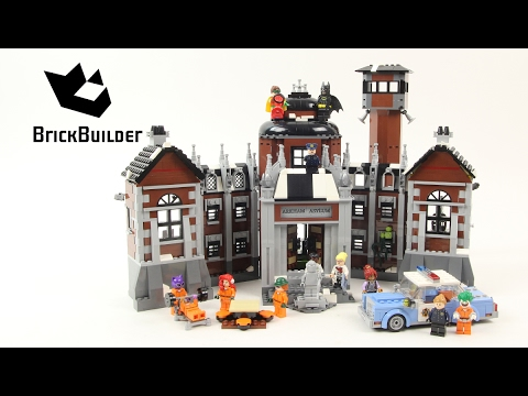 Lego Batman Movie 70912 Arkham Asylum - Lego Speed Build