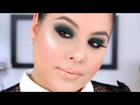 Olive/Sage Green Smokey Eye Makeup Tutorial | Nelly Toledo