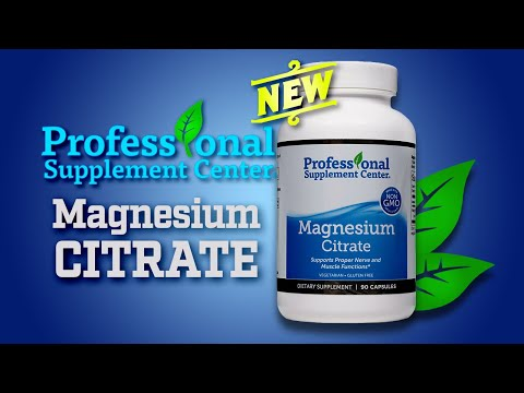 Magnesium Citrate by Professional Supplement Center