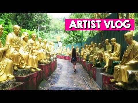 Recent adventures & #askhappydartist 💖 ARTIST VLOG 34