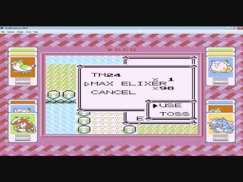 Pokemon red: --(move) glitch part 3 (me attempting it)