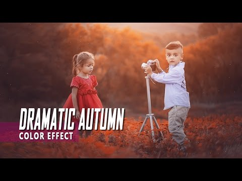 How I Did This Color Effect In Photoshop (Autumn Color)