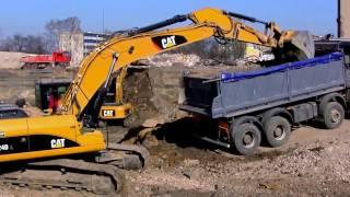 Escavatori - Caricatori - Bulldozer - Grande Costruzione - Espansione Di Lodz Polonia