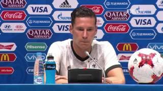 AUS v. GER -  Julian DRAXLER -  Germany Post-Match Press Conference