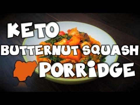 How to cook│KETO Butternut Squash Porridge │Nigerian Alternative Keto Dish │ MakeItWithChichi Ep12