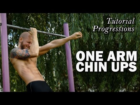 How to do One Arm Chin Up - Tutorial / Progressions