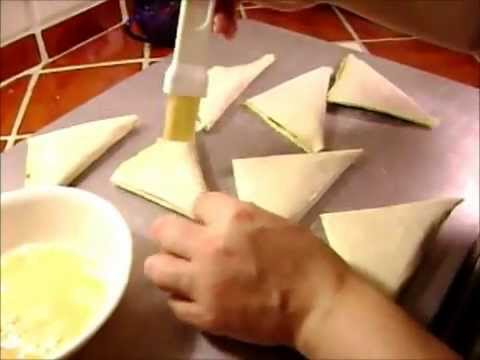 How to Make a Turnover in Phyllo Dough