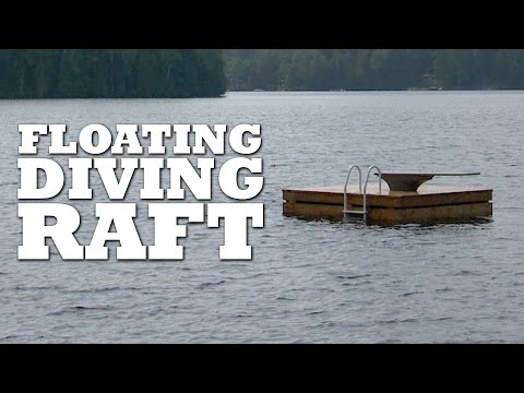 Floating Diving Raft Build