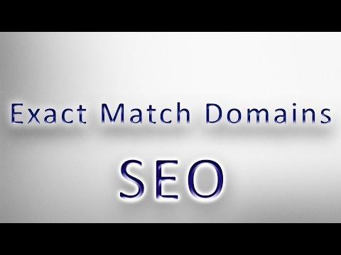 Are Exact Match Domain Names a Google Ranking Factor