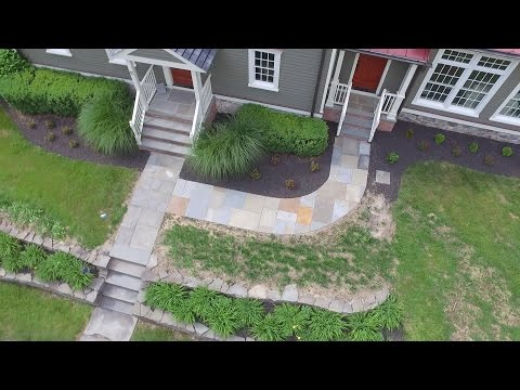 JB's Landscaping - Natural Stone Walkway