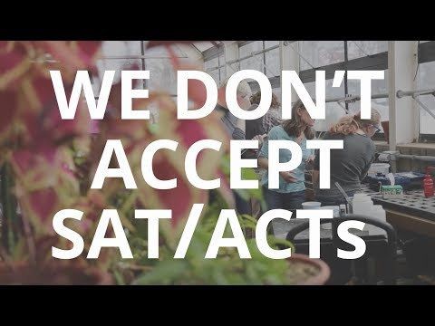 Why We Don't Accept SAT/ACT Test Scores • Hampshire College