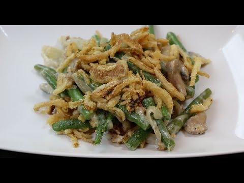 Green Bean Casserole -  Thanksgiving Green Bean Casserole Recipe