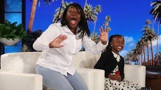Ellen Stuns Viral Kid Singer Bri