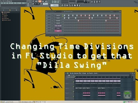 Changing Time Divisions in FL Studio to get that