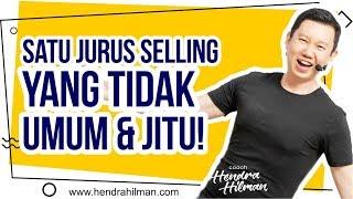 Hendra Hilman Easy 1-2-3 - Satu JURUS Selling yang TIDAK UMUM & JITU!