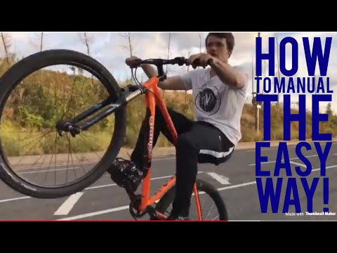 HOW TO MANUAL ANY BIKE IN 3 EASY STEPS!!