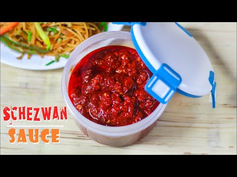 Homemade Schezwan Sauce Recipe | Schezwan Chutney Recipe In Hindi | Mintsrecipes | Ep-231