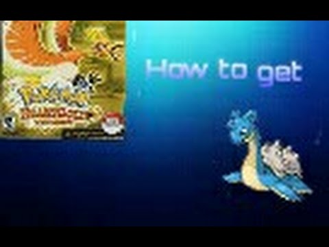 Pokemon heart gold how to get lapras