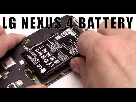 Nexus 4 battery replacement lg e960 NExus 4 sostituzione batteria