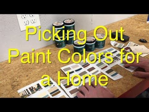 Picking Out Paint Colors for a Home - EASY and Accurate DIY