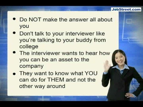 Why do you want to work for this company?