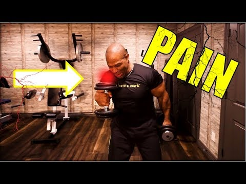 MUSCLE INJURIES?  How to Work Out If You Have Pain!