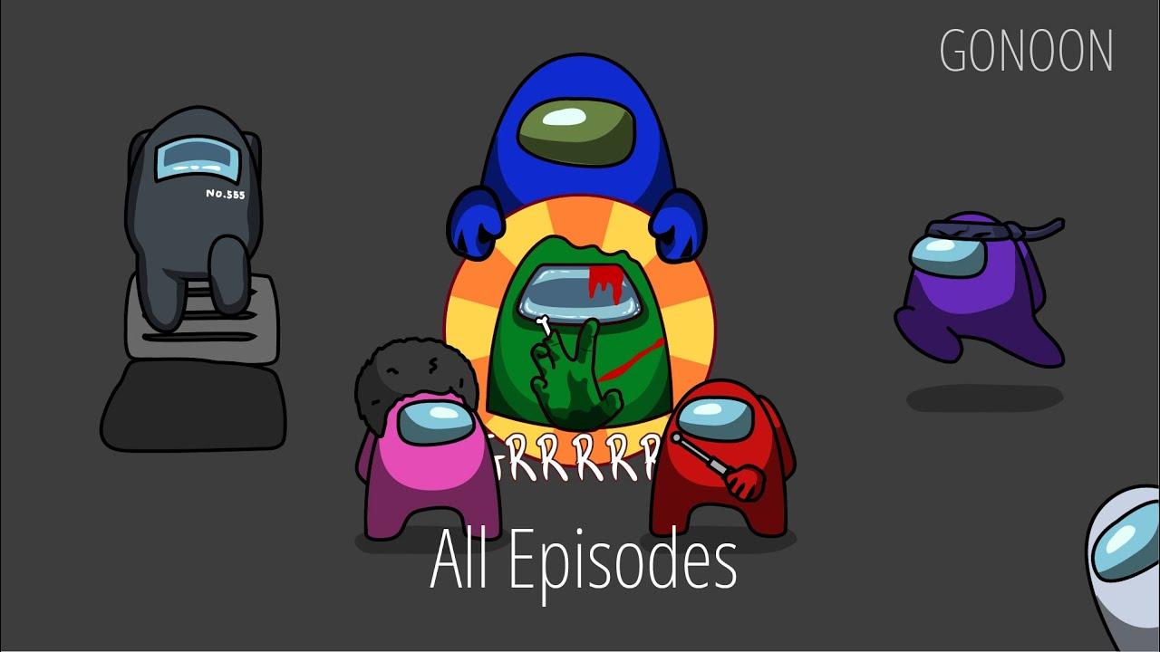 AMONG US Zombie Season 1 - All Episodes |  AMONG US Animation