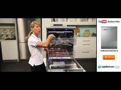 New and improved Samsung WaterWall Dishwasher DW60H9950FS reviewed by expert - Appliances Online