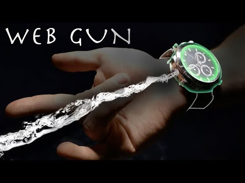 Make a SPIDER-MAN Web Shooter WRIST WATCH EDITION!!!