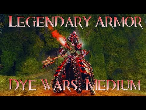Legendary Armor Dye Wars: Medium