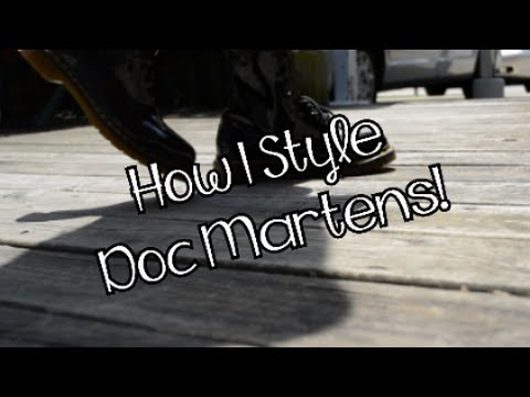 How I Style Doc Martens!